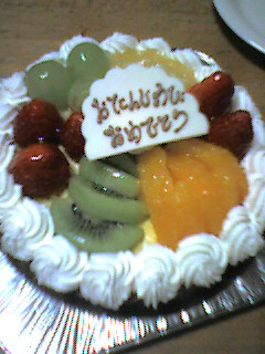 子供の誕生日〜