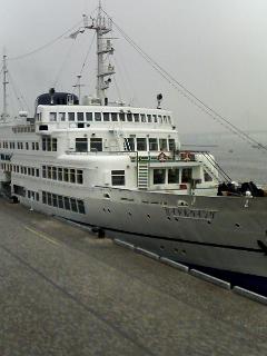 船でランチ@横浜