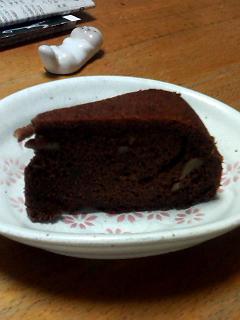 炊飯器ケーキチョコバージョンリターン