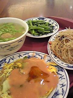 台北第一日目の夕飯!