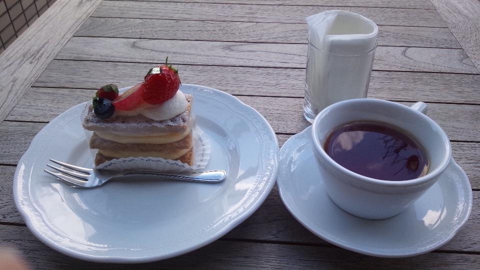 ゆめーぬランチ&ル・ププランでケーキ