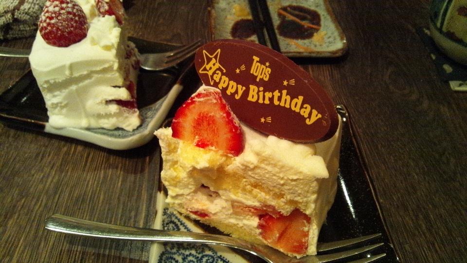 誕生日祝@たんたん/下北沢
