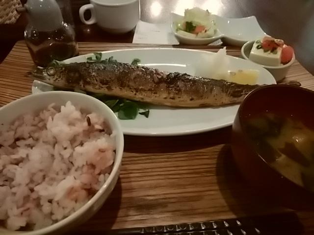 お魚の定食